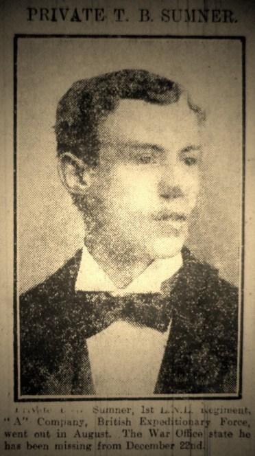 3434 Private Thomas Briscoe Sumner
