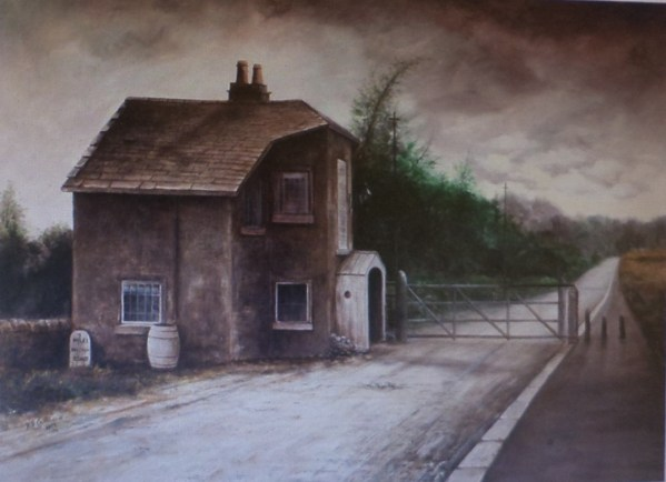 Shakerley Toll Bar House at Mellor. Photo reproduced with the kind permission of Blackburn Museum and Art Gallery