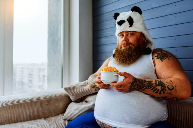 Overweight with Tattoos