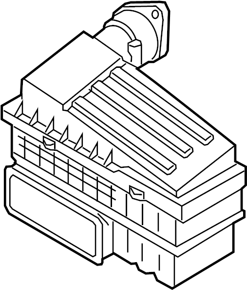 Volkswagen Tiguan Air Filter and Housing Assembly