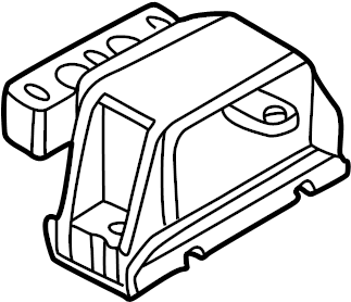 Volkswagen Beetle Convertible Automatic Transmission Mount