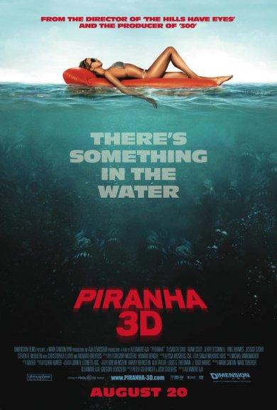 Piranha (3D) Poster