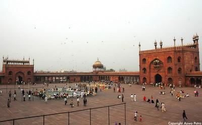 Jama Masjid - interior