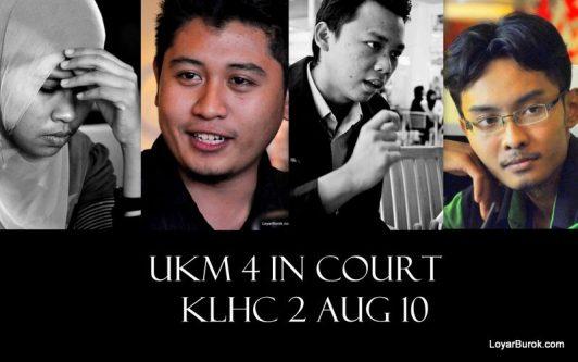 UKM 4 in court