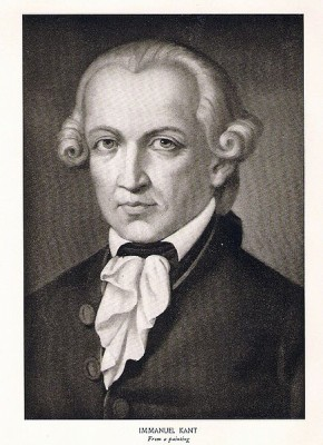 Immanuel Kant says hello