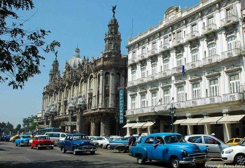 Havana's oldest hotel, Hotel Inglaterra