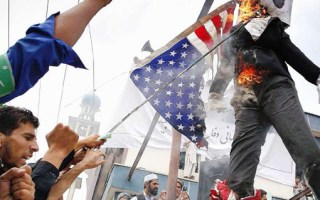 Burning Foreign Flags is Expression