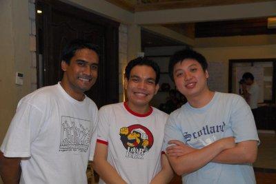 Daniel Albert, Syahredzan Johan, Kenneth Wong Poh Lim | Credit: Woon King Chai