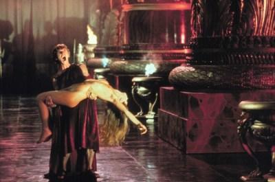Scene from film CALIGULA (1979) starring MALCOLM MACDOWELL