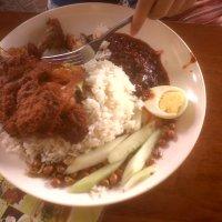 Nasi Lemak Ayam Berempah at RM7.00 (Village Park)