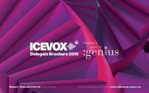 Loyra en ICE Totally Gaming . Feb. 4-7, fotografía del cartel de la Feria.