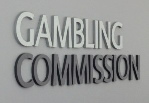 Gambling Comission (UK): advertencia sobre ciertas prácticas, logotipo de Gamblig Commision