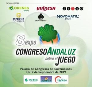 8 EXPOCONGRESO ANDALUZ SOBRE EL JUEGO. Logotipo