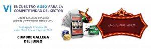 VI Encuentro Ageo para la competitividad del sector, fotografía del logotipo.