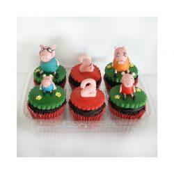Pepa Pig cupcakes