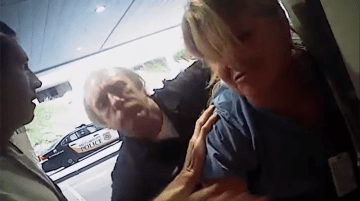 Salt Lake City nurse Alex Wubbels was taken into custody for correctly defending her unconscious patient's rights.