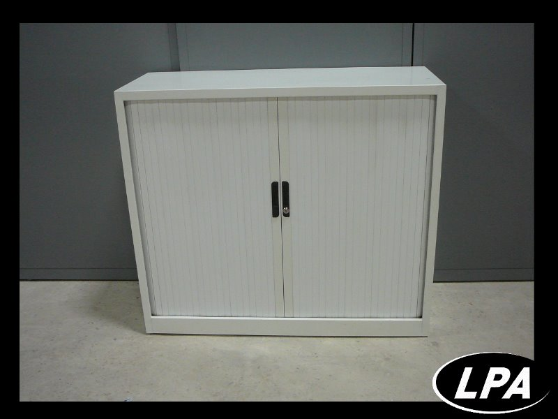 armoire mtal blanche  Armoire Basse  Armoires  LPA