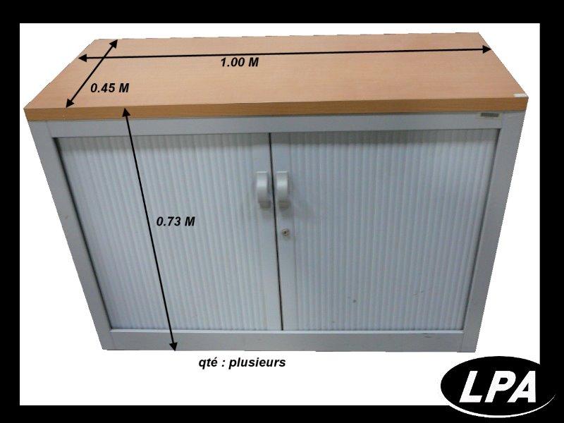 armoire metallique basse knoll