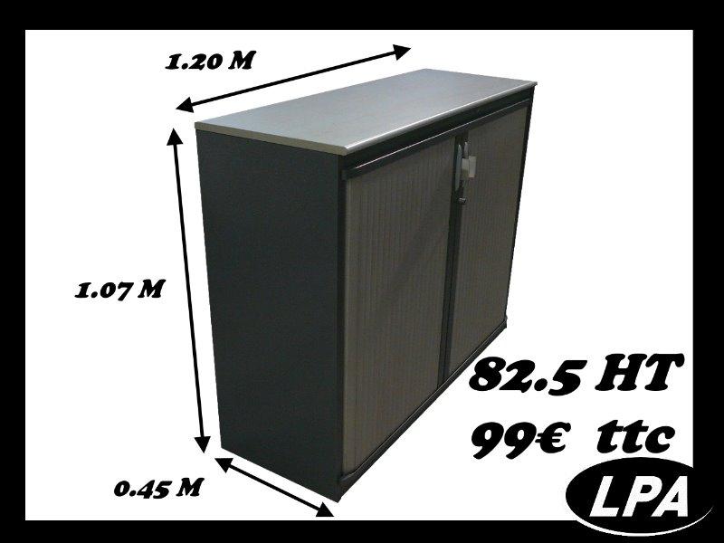 basse steelcase armoire basse
