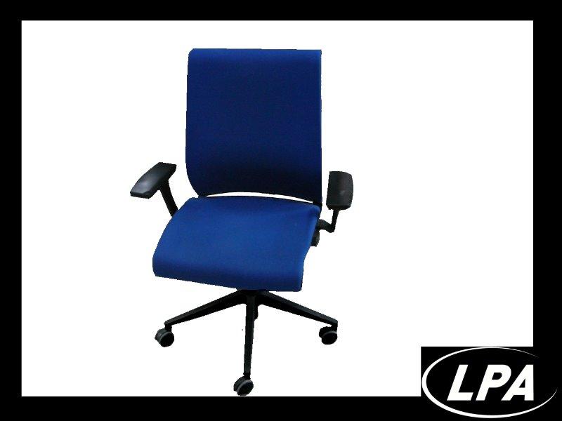 Fauteuil Steelcase THINK Bleu Fauteuil Mobilier De