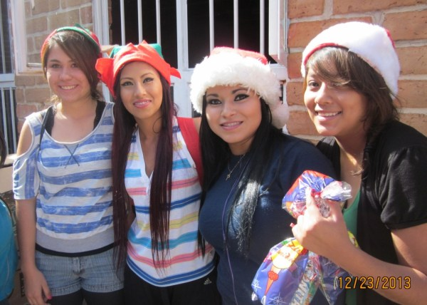 Our pretty elves from La Ola