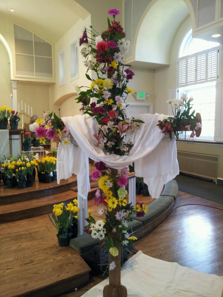 Easter Sunday - Flowering The Cross