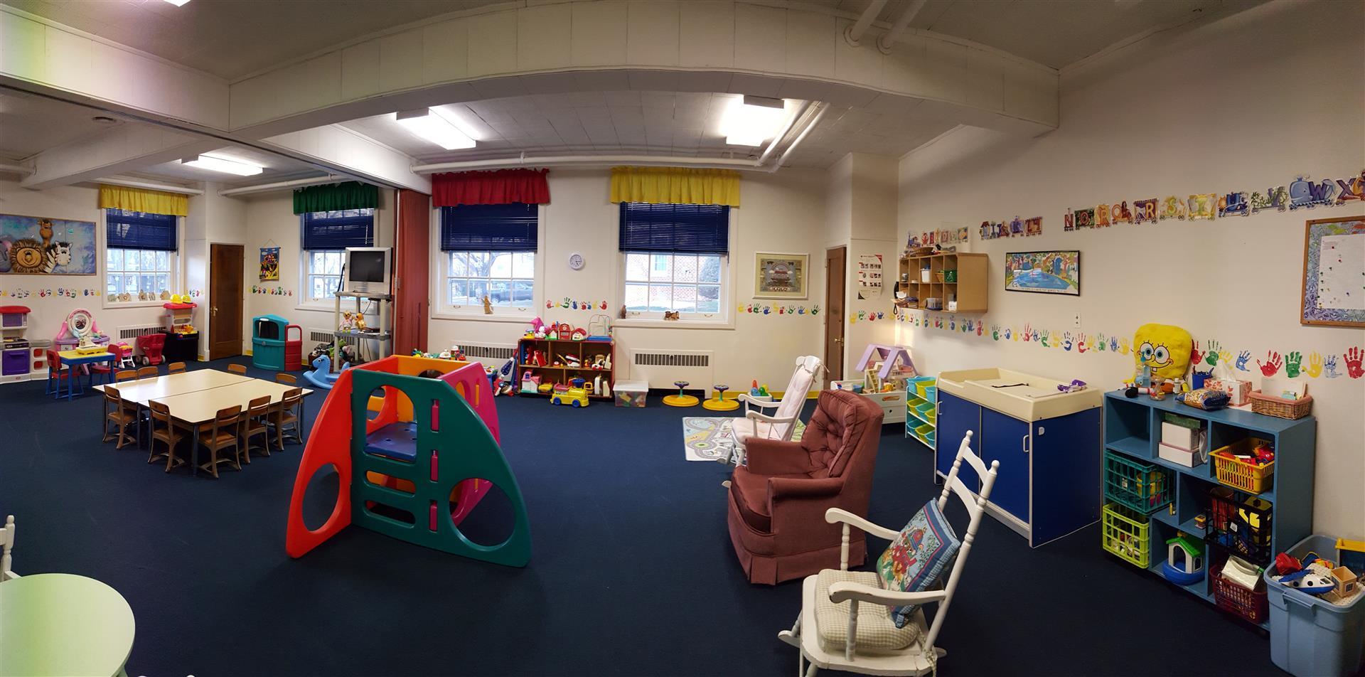 Professionally-Staffed Nursery