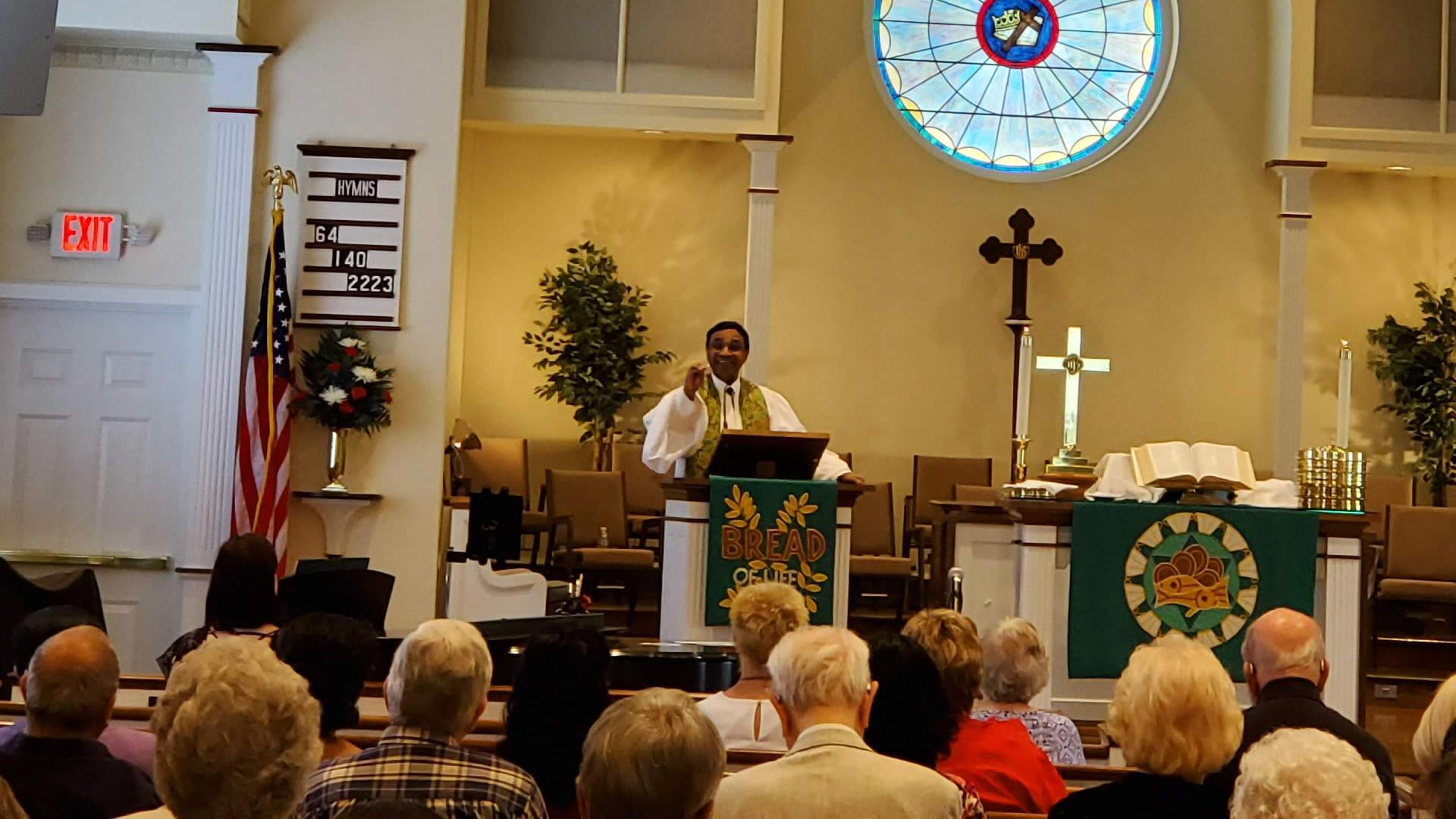 From Our New Pastor, The Rev Christopher Kurien