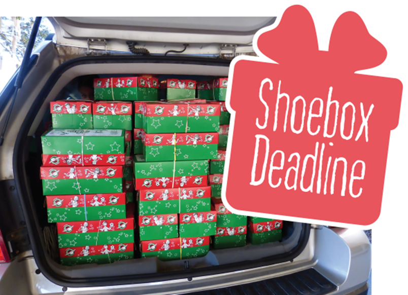 Shoebox Deadline