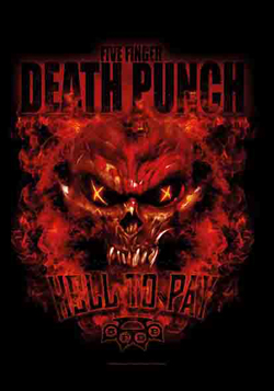 Best Wallpapers Hd Lpgi Five Finger Death Punch Fabric Posters Music Wall