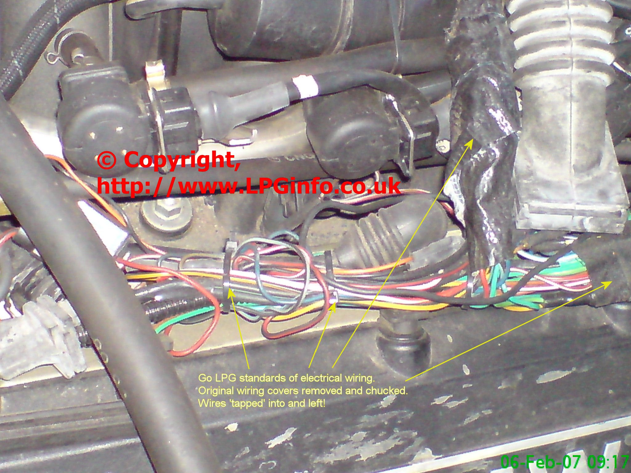 lpg wiring diagram conversion kenworth pigtail romano 25 images