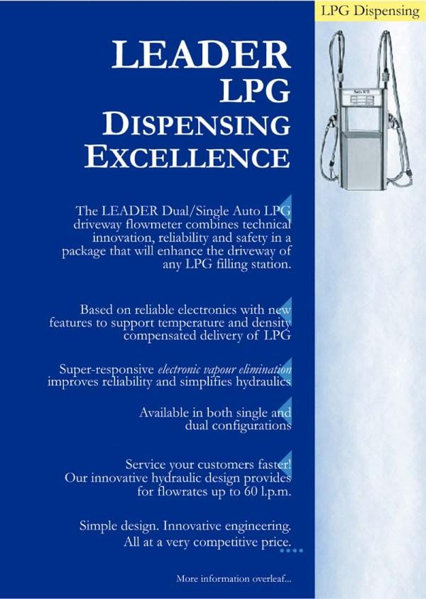 Lpgmt - Leader Lpg Dispenser Brochure