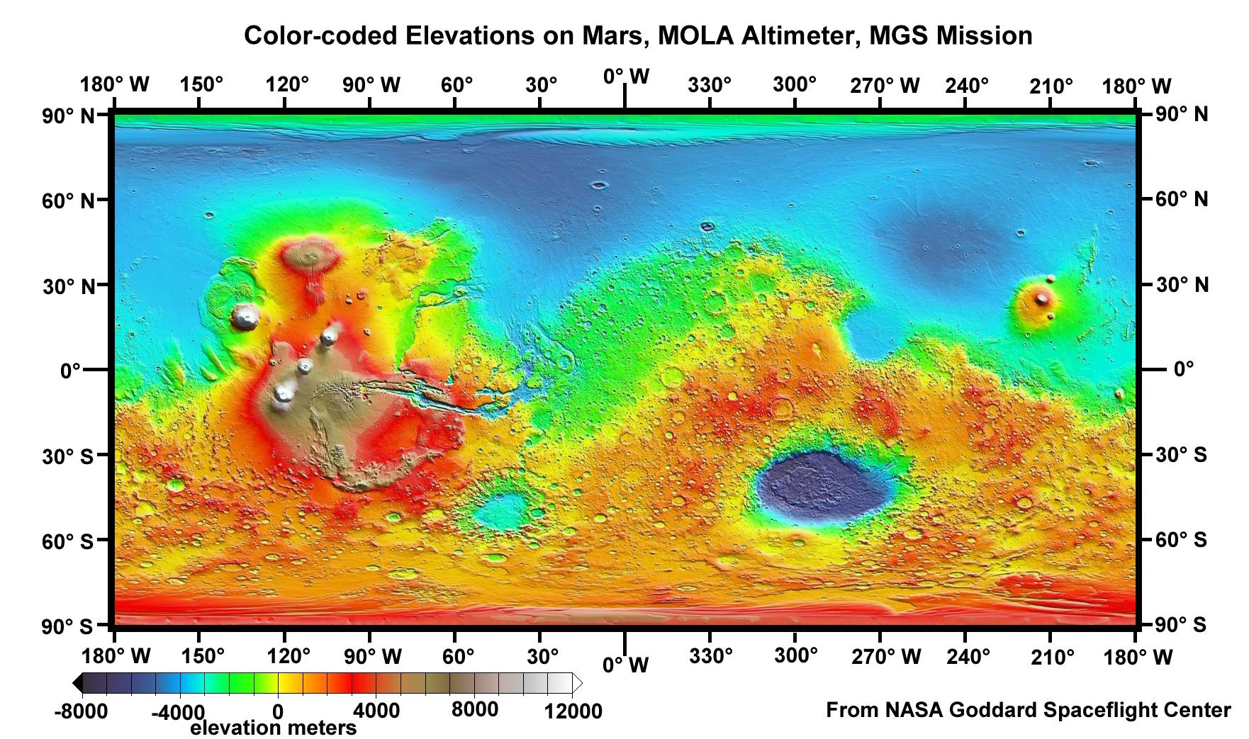 Great Desert Mars Maps 1