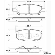 Raybestos Racing Brake Pads, Mitsubishe Lancer (non-Evo