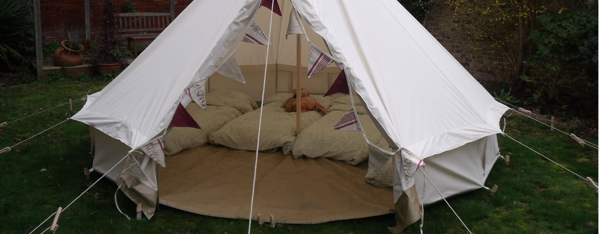 Boutique Camping and Luxury Accommodation hire for parties