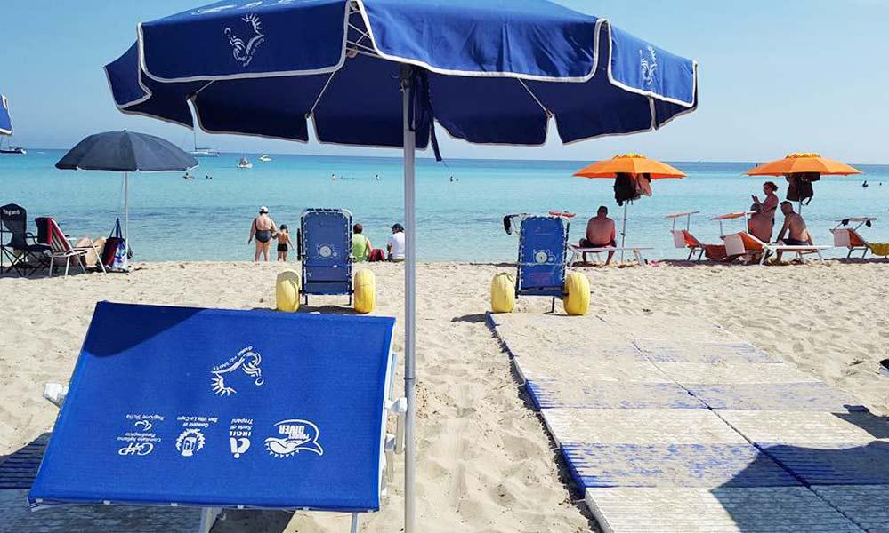 SPIAGGIA ACCESSIBILE SAN VITO LO CAPO  Spiaggia per