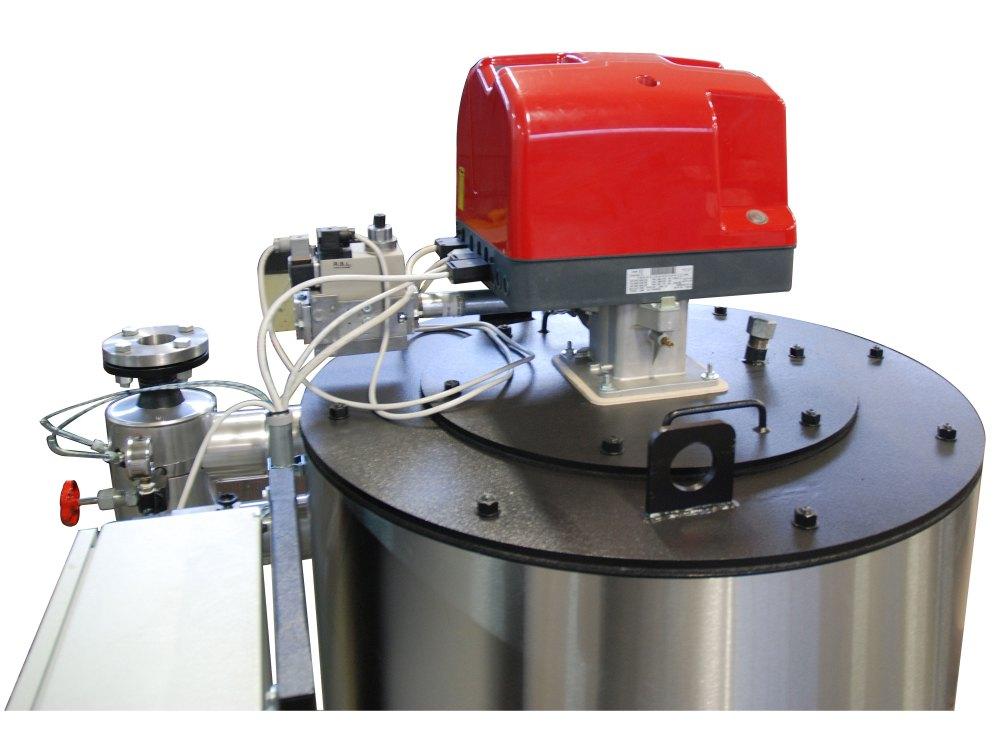 Riscaldatore olio diatermico - Bruciatore a gas