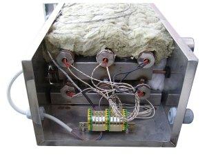 Surriscaldatore elettrico vapore - resistenze