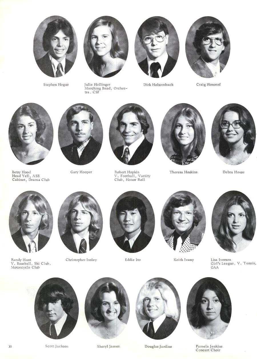 1976 Senior Pictures