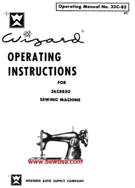 Wizard 33C-79 Instruction Manual PDF Download