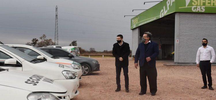 Sáenz Peña es la primera ciudad del país en implementar el sistema GLPA en vehículos del Municipio