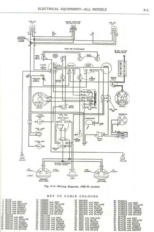 small resolution of  wiring diagram 1948 50
