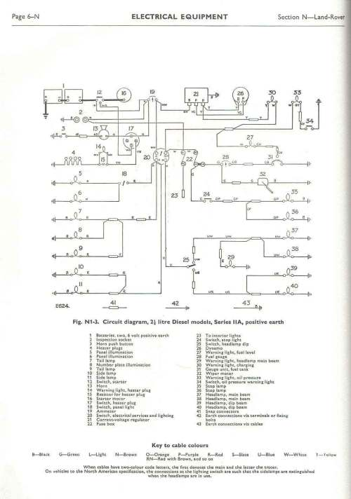 small resolution of land rover faq repair maintenance series electrical rh lrfaq org land rover series 2a wiring diagram land rover series 2a wiring diagram