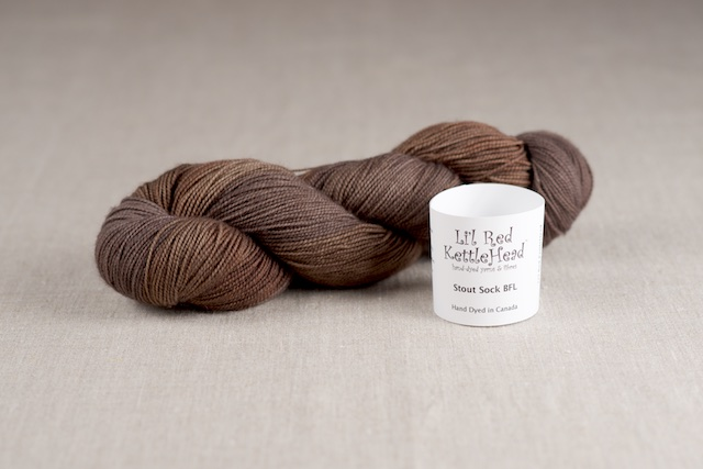 Stout Sock BFL - Leather