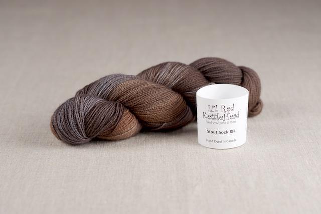 Stout Sock BFL - Mink