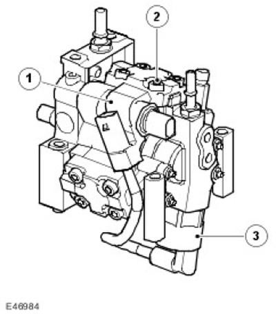 Электронная часть управления: Клапаны управления 2.7L