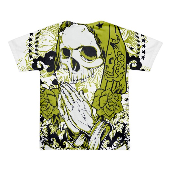 Santa Muerte - Short sleeve men's t-shirt