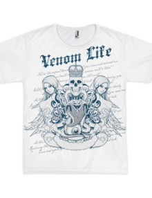 Venom Life - Short Sleeve Men's T-shirt 1