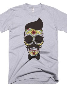 Skull Man - Short sleeve men's t-shirt 3