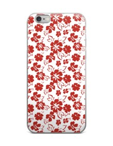 Red Flower iPhone case 1